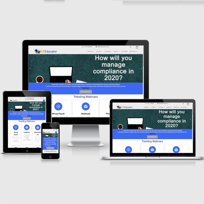 ETeducator website design company